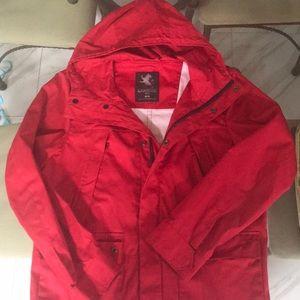 Express Red Rain Jacket 🧥